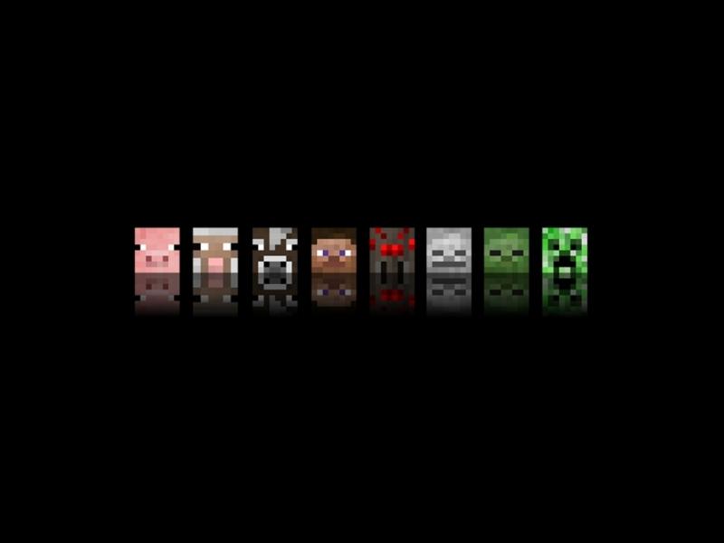 Minecraft Wallpaper 02 - Tapeta Minecraft 02: