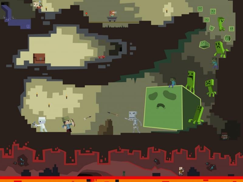 Minecraft wallpaper 09 tapeta minecraft 09