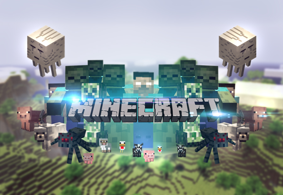 Minecraft Wallpaper 14 - Tapeta Minecraft 14: